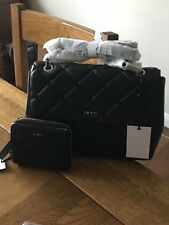 DKNY quilted bag and purse