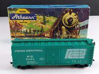 Athearn 1206 Penn Central 40' Steel Box Car PC 77040 HO Scale