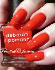 NEW! Deborah Lippmann FOOTLOOSE Nail Polish ~ Rebellious Red crème