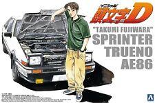 Aoshima Initial D Takumi Fujiwara Toyota Sprinter trueno AE86 escala 1 24
