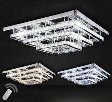 XXL Led Deckenlampe Kristall Deckenleuchte dimmbar Luxus 40-70cm Kalt Warm Weiß