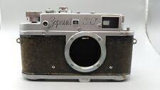+1956 Vintage URSS Zorki 3C basado en la película Telémetro Leica M39 Tornillo Cuerpo! trabajo!