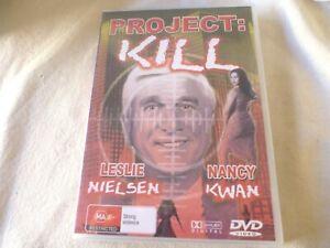 Project Kill (DVD) Region Free  Leslie Nielsen, Gary Lockwood