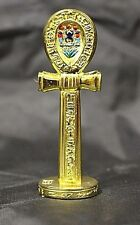 Egyptian Gold Plated Ankh Symbol of Life Figurine 75613 AA