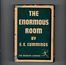 e e cummings HCDJ THE ENORMOUS ROOM  unexpurgated.