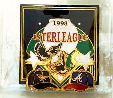 Peter David Baltimore Orioles Atlanta Braves 1998 Interleague MLB Baseball Pin