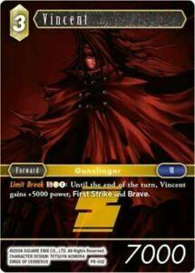 Vincent Promo Card - PR-002 - Near Mint - FFTCG