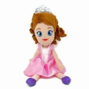 "Disney Junior Sofia the First Princess Jakks Pacific Stuffed Doll Plush Toy 12"""