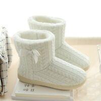 Women's Winter Warm Indoor Floor Shoes Cotton Thickened Short Plush Boots