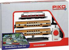 Piko 57135  Nahverkehrszug BR 118 + 2 Doppelstockwagen H0 Gleisoval,Netzteil,Fah