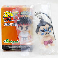 Street Fighter 2 E. Honda Another ver. Character Strap Figure Capcom JAPAN GAME