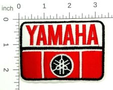 YAMAHA Racing Logo Patch Embroidered sew Iron On Motorcycle Boat Race 399