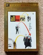 All About Eve Fox Award Series Dvd Vg+ Bette Davis – Anne Baxter