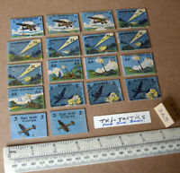 """18 Vintage Gibson War Game Spare Parts """"Tri-Tactics"""". 1940s/50s Period (369)"""