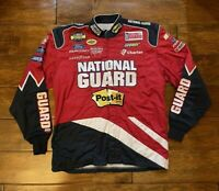 Race Used Greg Biffle #16 National Guard Racing Pit Crew Fire Jacket NASCAR Rare