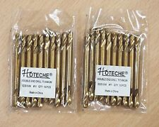 20PC #11 TITANIUM DOUBLE END DRILL BITS FULL GROUNDED