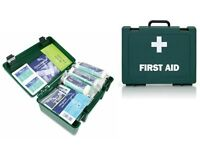 HSE First Aid Kits and Refills, Saline, Dressings, Bandages and more.......