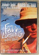 Fear and Loathing in Las Vegas (Johnny Depp) DVD **LIKE NEW** (Region 4)