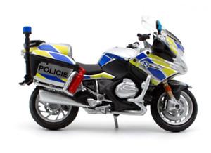 MAISTO 1:18 BMW R1200RT Czech R 1200 RT Police MOTORCYCLE BIKE DIECAST MODEL