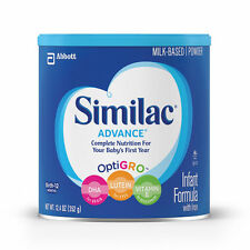 Similac Advance 1 Stage Infant Formula with Iron Nine 12.4 Oz cans