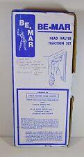 NOS Be Mar Head Halter Traction Set with 20 lb. Water Weight Bag (Over Door)