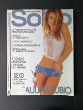 Revista Soho Sexy Men's Colombia Magazine January 2002 #25 - Paulina Rubio