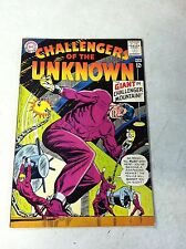 CHALLENGERS OF THE UNKNOWN #36 GIANT IN CHALLENGER MOUNTAIN, 1964