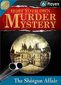 Host Your Own Murder Mystery: The Shotgun Affair - Dinner Party Game - New