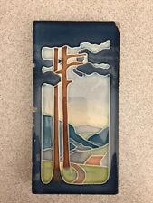 Jugendstil Fliese Kachel M.O.P.F. vorm. C.T.M. 7,3 x 14,5 cm