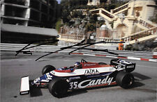 Brian Henton SIGNED Toleman-Hart TG181  Monaco Grand Prix 1981