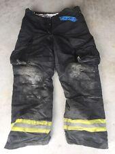 Firefighter Janesville Lion Apparel Turnout Bunker Pants 40x34 Black 2005
