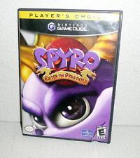 NINTENDO GAMECUBE Player's Choice SPYRO ENTER THE DRAGONFLY *CIB Complete 2002