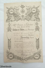 CITATION A L ORDRE DE LA DIVISION 1914/16.