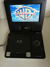 """Philips portable dvd player, 7"""" screen, remote control."""