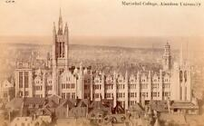 Marischal College Aberdeen University unused RP old pc GWW