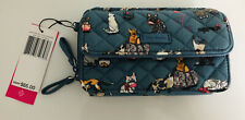 Vera Bradley Cats Meow Iconic RFID All in One Crossbody RARE HTF