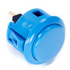 Sanwa OBSF-30mm Snap-in Button-Blue-OEM
