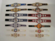 14 Custom Wrestling Figure Belts WWE WWF CURRENT 2020 (ACTION FIGS NOT INCLUDED)