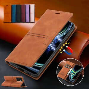 Leather Wallet Flip Case For Samsung S21 Note 20 Ultra S20 Note 10 Plus S10 S9S8