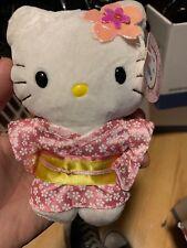 Sanrio Hello Kitty Kimono Plush Doll Soft Toy @2001