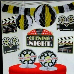 Room Decor Kit Film Movie Photography Camera Hollywood Graduation Party Birthday