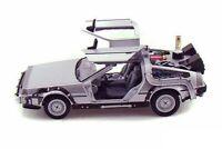 Back To The Future DeLorean Toy Model Time Machine Diecast Replica Collect Class