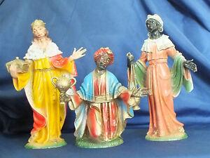 Italian Nativity Resin Figurines
