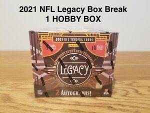 🔥 VIKINGS - 2021 LEGACY FOOTBALL Team Box Break - 1 HOBBY BOX!!🔥