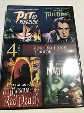 Pit and the Pendulum/Tales of Terror/Masque of the Red Death Dvd Vincent Price 4