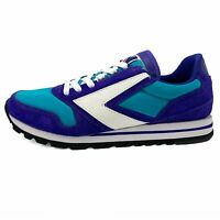 New Men's retro Originals sneakers Brooks Chariot Turquoise Purple White sz