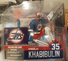 Mcfarlane NHL Nikolai Khabibulin Goalie Winnipeg Jets