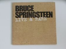 Bruce Springsteen Live & Rare Promo 4 Track Columbia CD Single