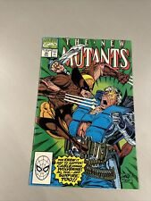 New Mutants #93 •NM+•🔑🔥CLASSIC Wolverine vs Cable COVER🔥LIEFELD & McFARLANE