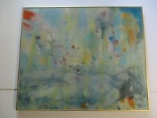 CONNORS PAINTING ABSTRACT NUDE WOMAN RARE MODERNISM VINTAGE EXPRESSIONISM LARGE
